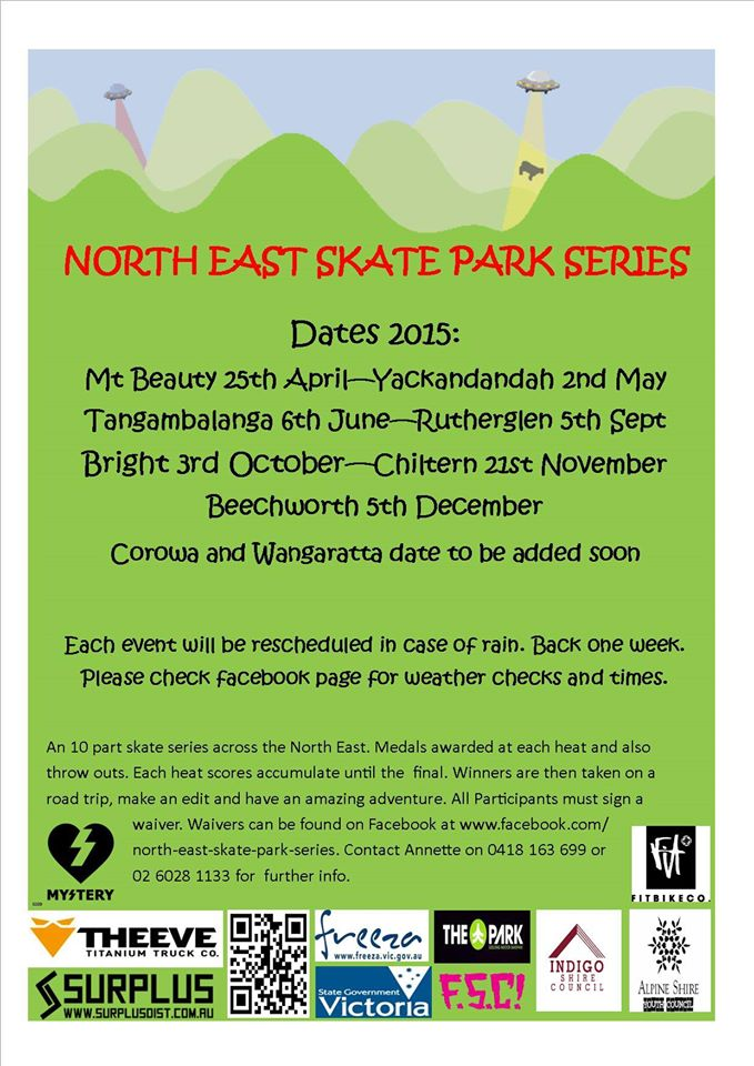 North East Skate Park Series 2015