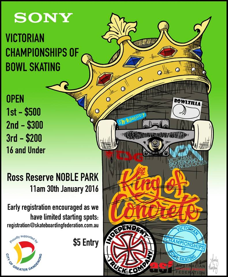 King of Concrete – Vic Championships 2016