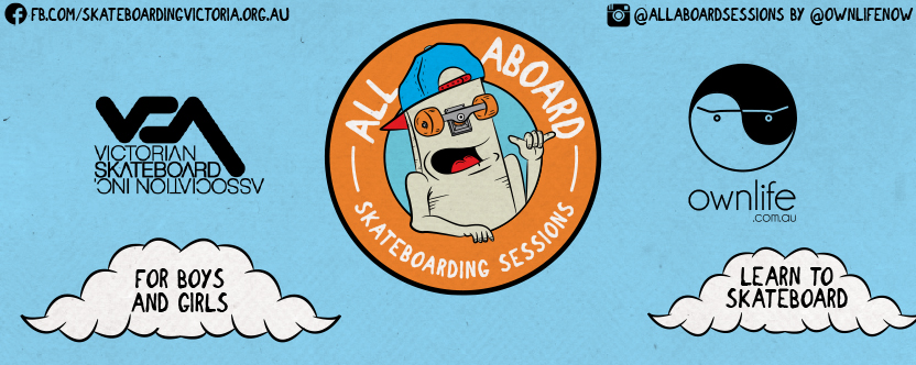 All Aboard Skateboard Sessions – Training Program